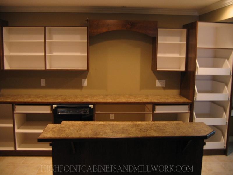 Maple Shaker Kitchen - During Installation