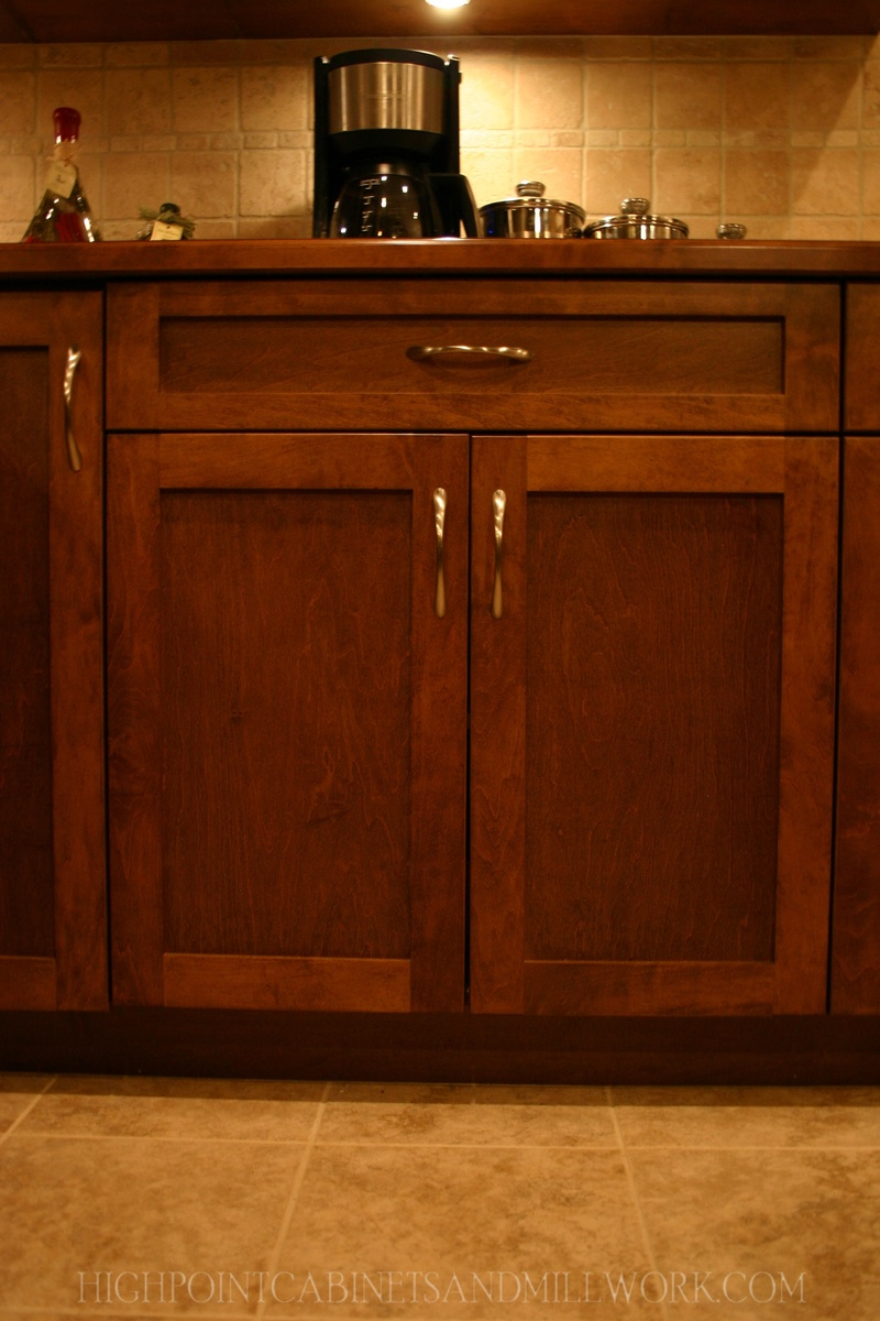 Maple Shaker Kitchen