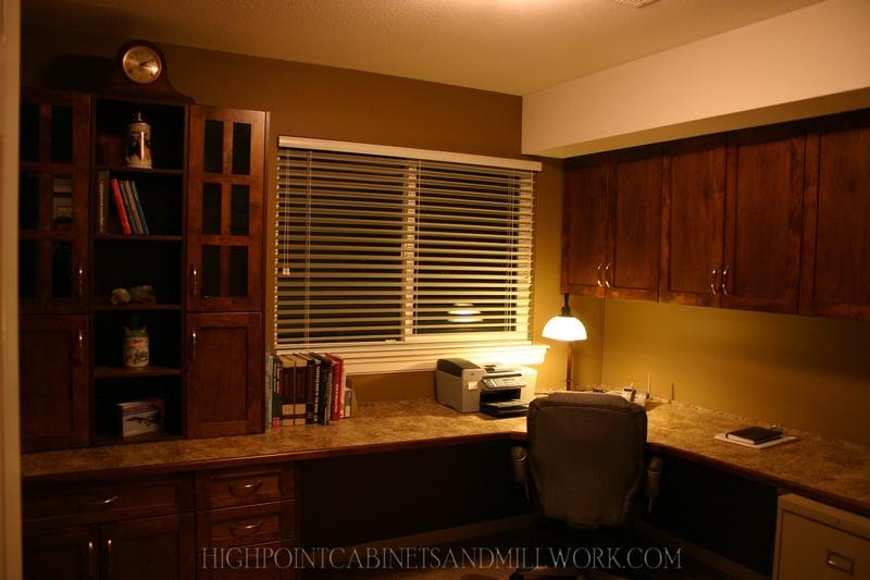 Maple Shaker Office Built in