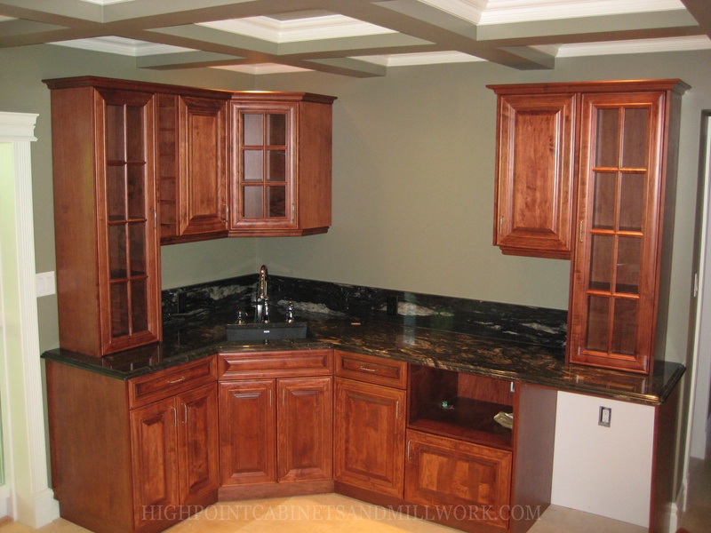 Maple Wet Bar